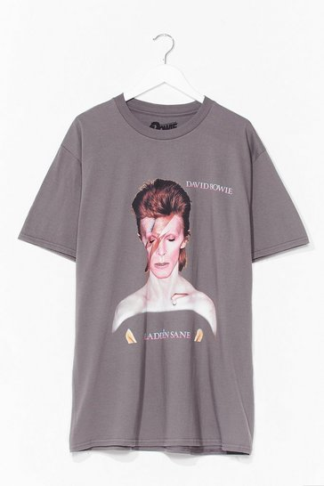 Charcoal Forever Iconic Bowie Tee Dress