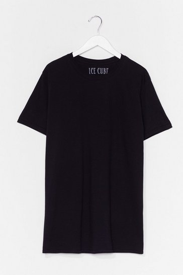 Black Ice Cube License T-Shirt Dress