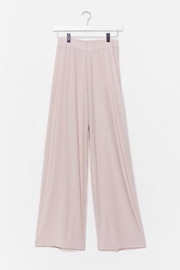 Stone Let Loose Wide-Leg Lounge Trousers