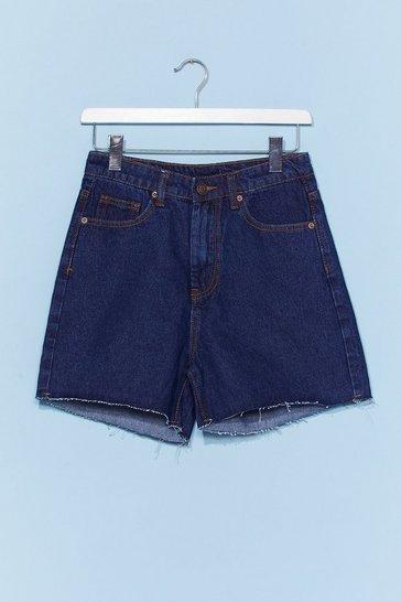 Mid blue Dad Shorts
