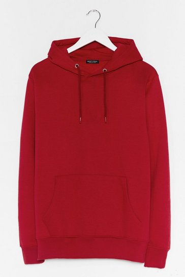 Red You Better Pullover Oversized Hoodie