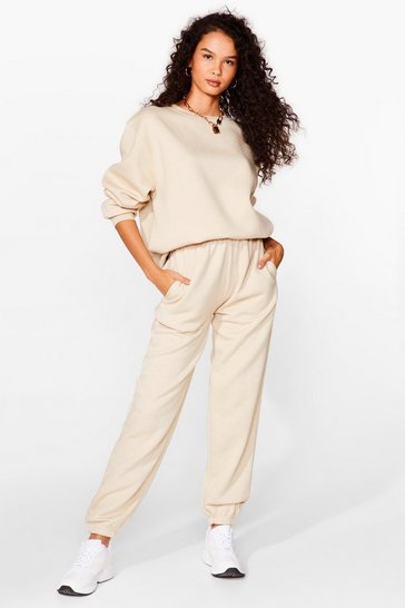 Sand Kick Back Relaxed Sweatshirt and Jogger Set