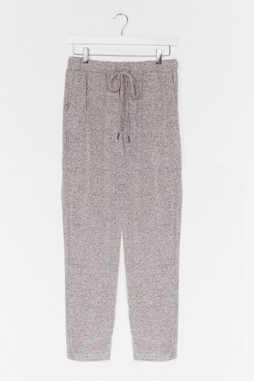 Grey Lounge What We're Lookin' for Relaxed Joggers