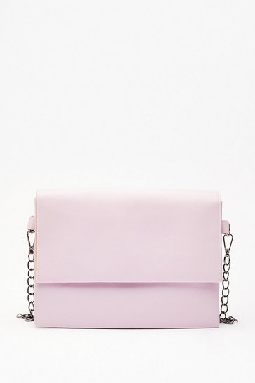Lilac WANT Do What You're Fold Crossbody Bag