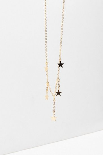 Gold We've Came This Star Charm Necklace
