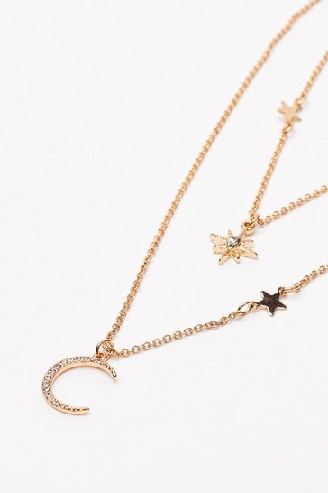 Gold Rhythm of the Night Layered Necklace