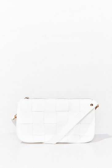 White WANT Don't You Forget About Me Shoulder Bag
