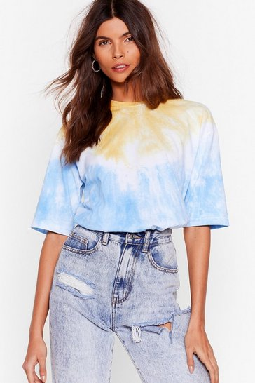 Blue See Eye to Tie Dye Relaxed Tee