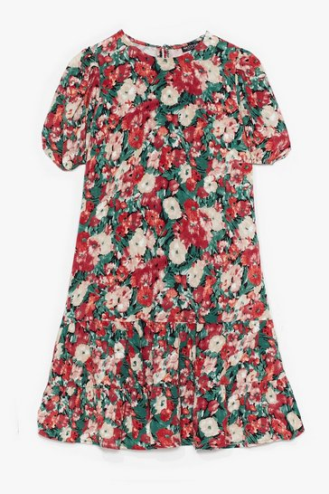 Pink Grow Me Love Floral Mini Dress
