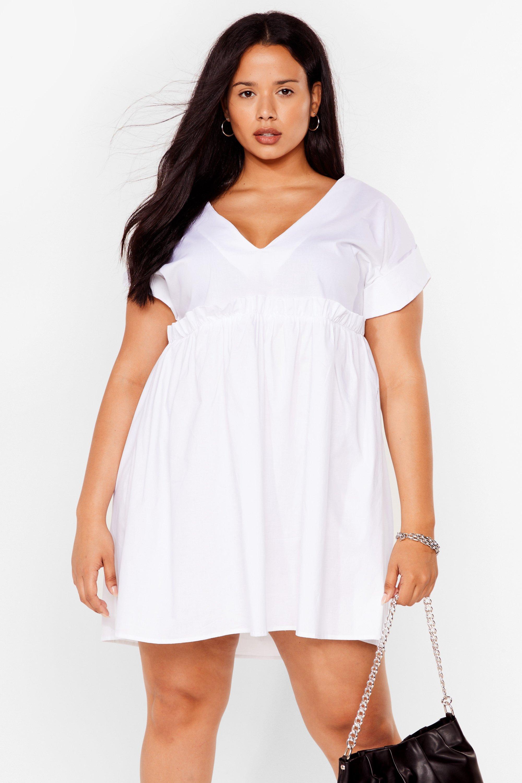 So Very Smooth Plus Mini Dress