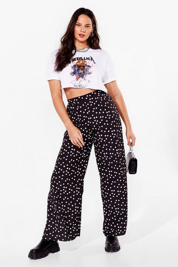Black Dot's It to You Plus Wide-Leg Pants