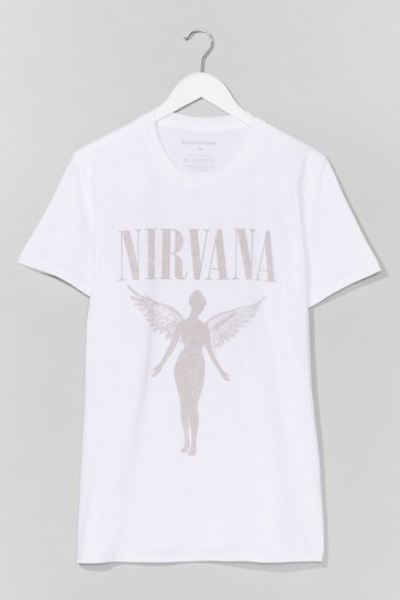 White Nirvana on Tour Graphic Tee