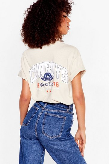 Sand Well Howdy Cowboys Graphic Tee