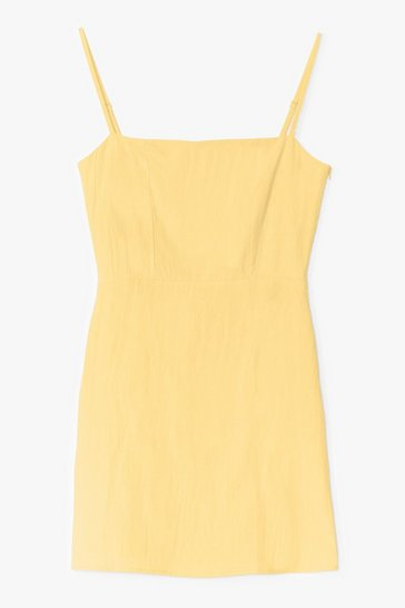 Lemon One Mini Babe Square Neck Dress