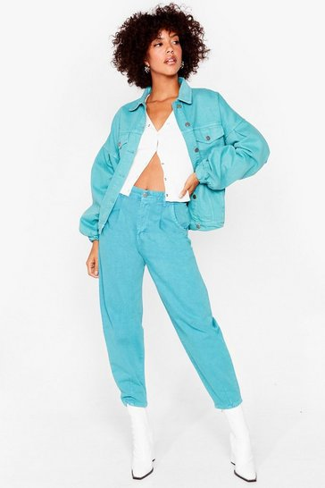 Jade Taper Our Time High-Waisted Jeans