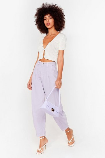 Jade Slouchy High Waisted Tapered Jeans