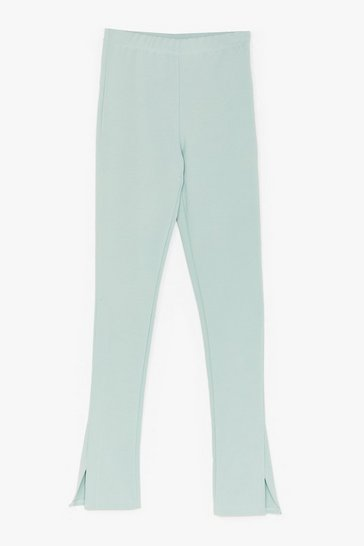 Sage Home Office Tailored Slit Pants