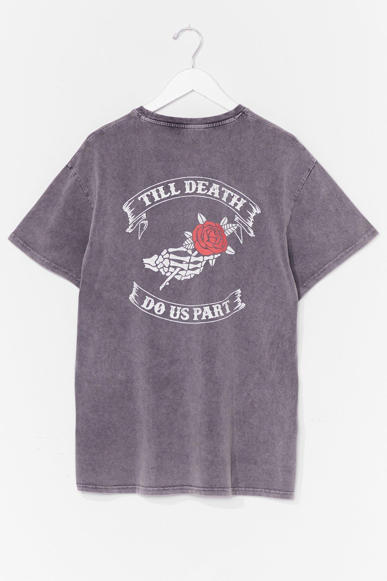 'Til Death Do Us Part Plus Graphic Tee 6