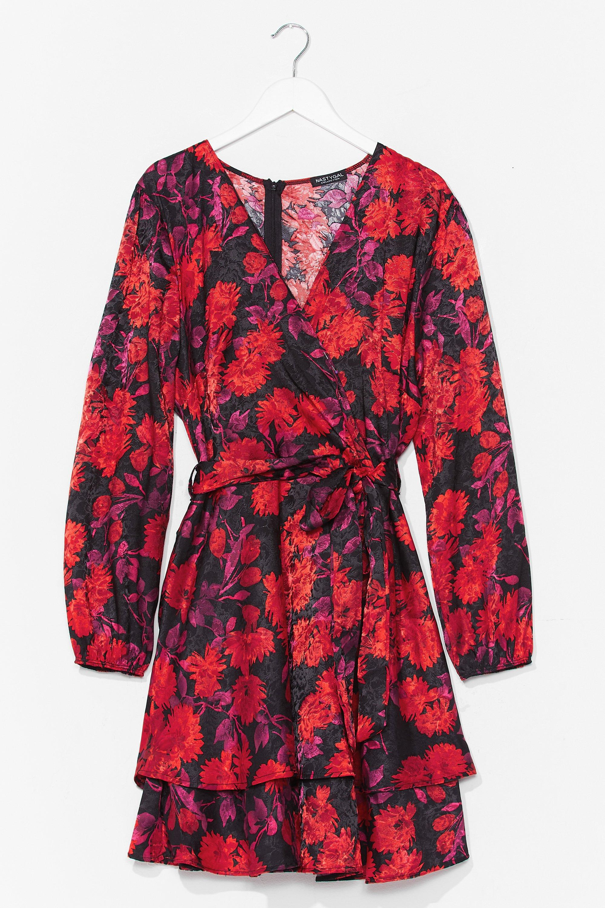 We're Bud to You Plus Floral Dress 7