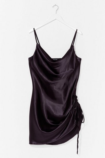 Black My Love Shines On Plus Mini Dress