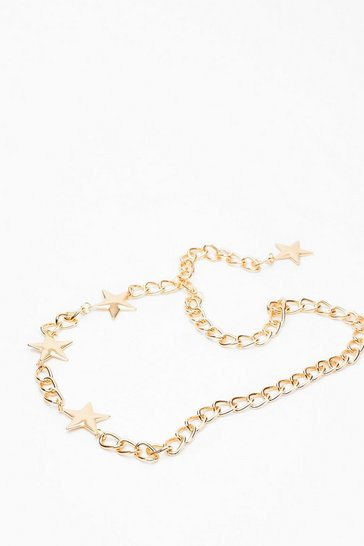 Gold Star-t It Up Chain Belt