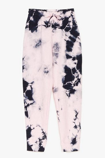 Pink Need a Tie Dye-own High-Wasited Joggers