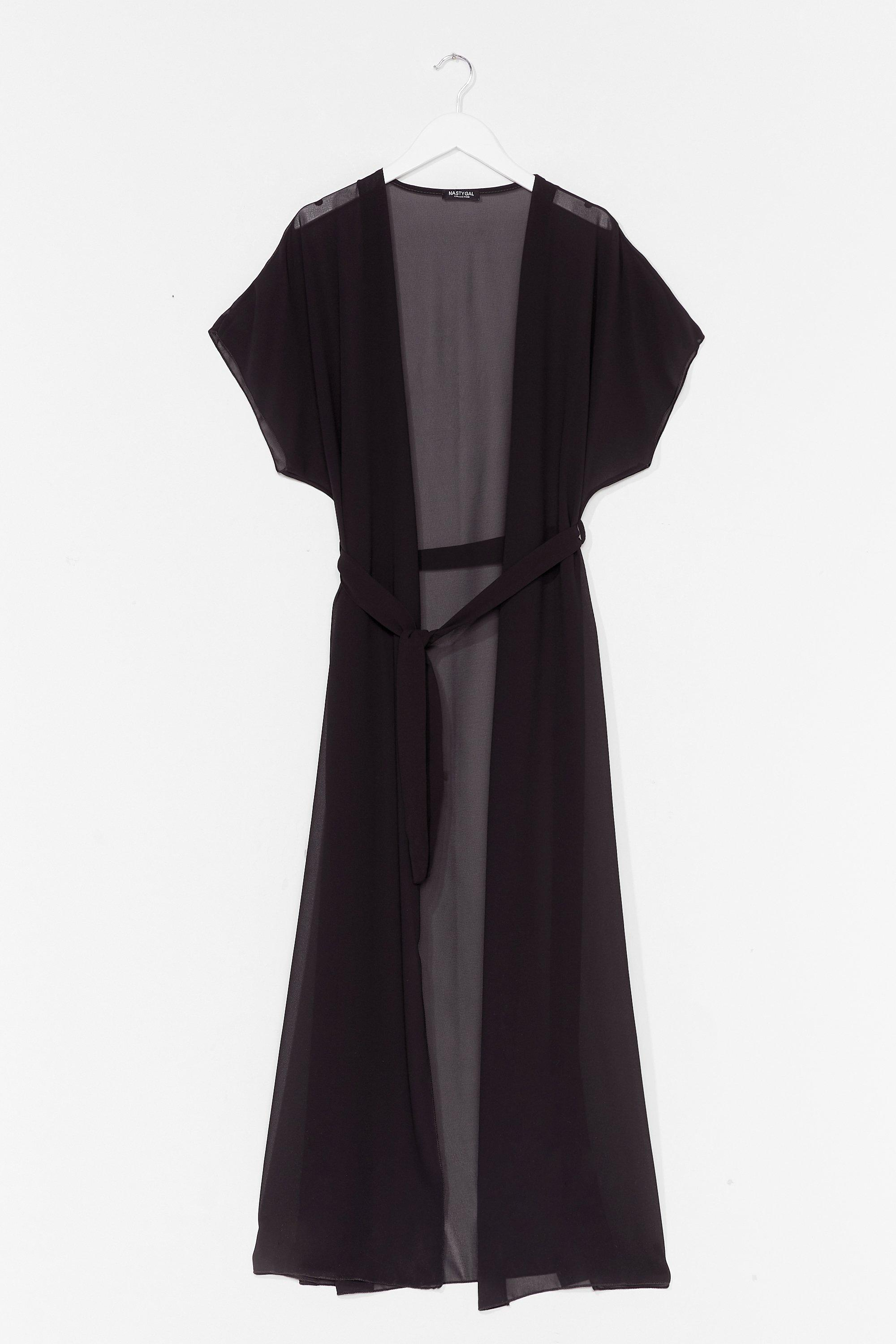 A Little Over the Top Maxi Cover-Up Jacket