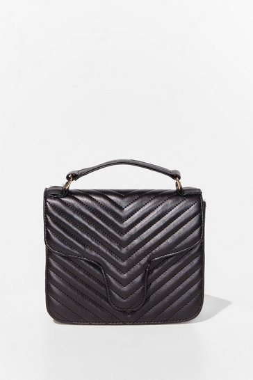 Black WANT Call It Quilts Crossbody Bag
