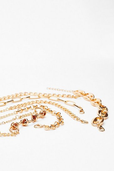 Gold Things Will Chain-ge 6-Pc Bracelet Set