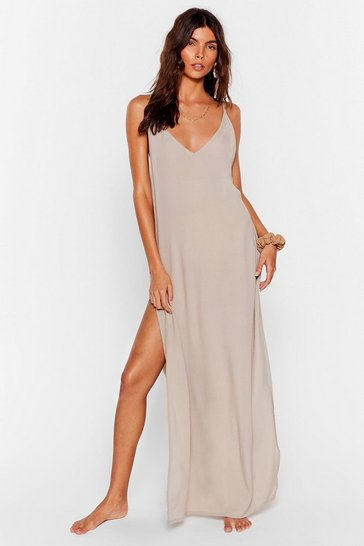 Stone Haven't Sea-n You in Forever Cover-Up Maxi Dress