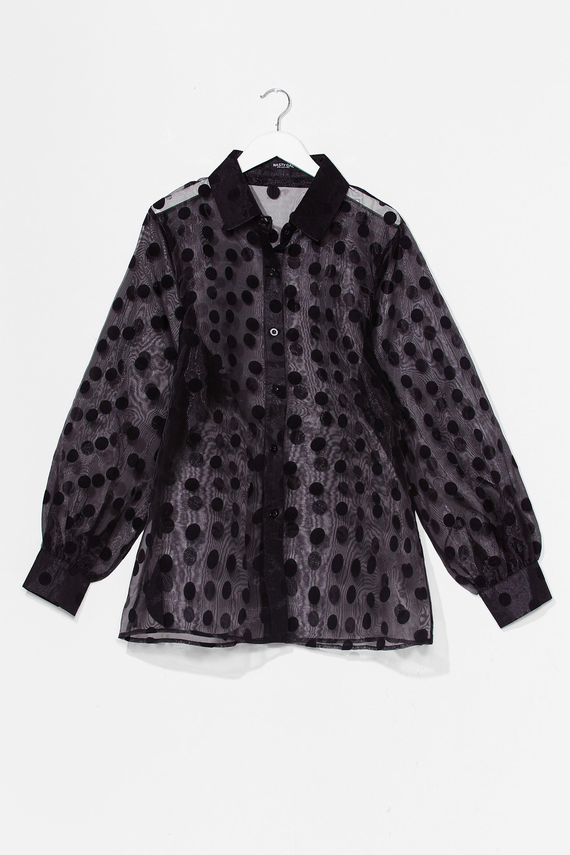 Plus L/S Cotton Smock Dress 2