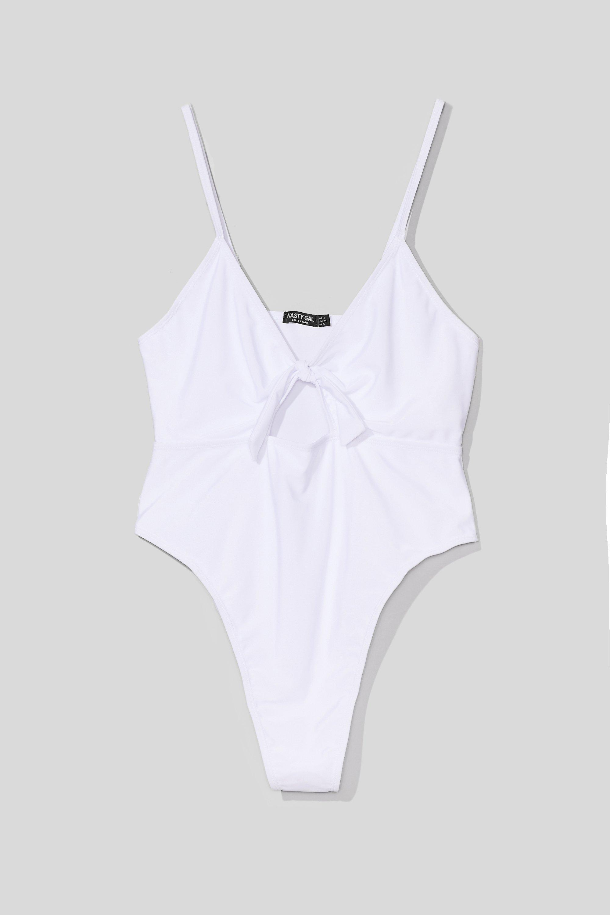 Daisy For You Plus Tie Swimsuit 4