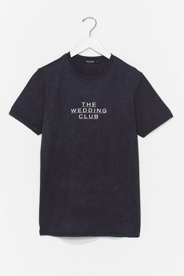 Charcoal The Wedding Club Bachelorette Graphic Tee