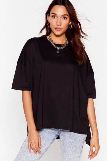 Black Comfort Is the Mission Oversized Tee