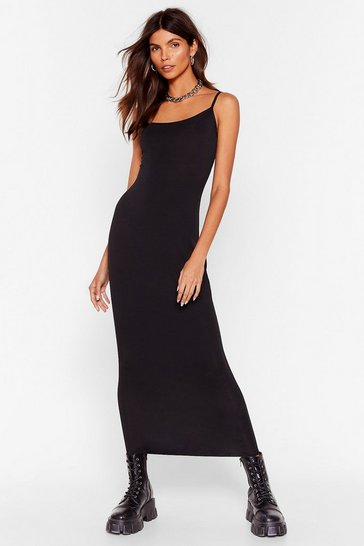 Black Fit's Time for a Change Midi Dress
