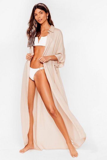 Stone Here Comes the Sun Maxi Cover Up Dress