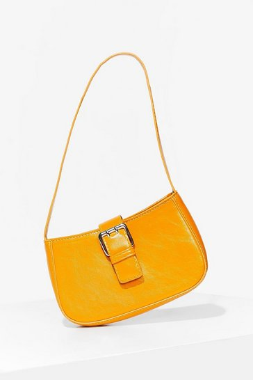 Orange WANT Go Buck-le Yourself Shoulder Bag