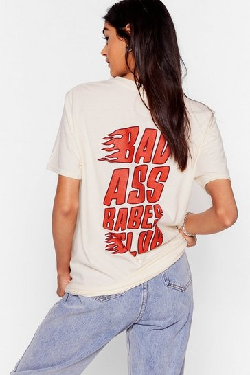 Sand Bad Ass Babes Club Graphic Tee