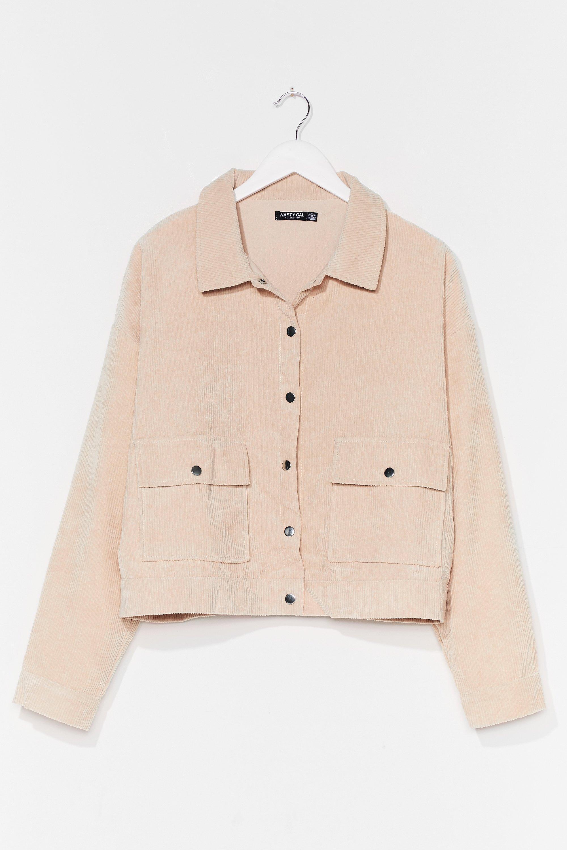 Nothing But-ton Love Plus Corduroy Jacket 6