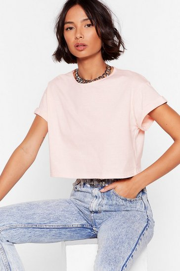Nude Let the Good Times Roll Cropped Tee