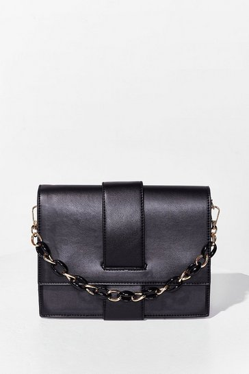 Black WANT Never Chain-ge Crossbody Bag