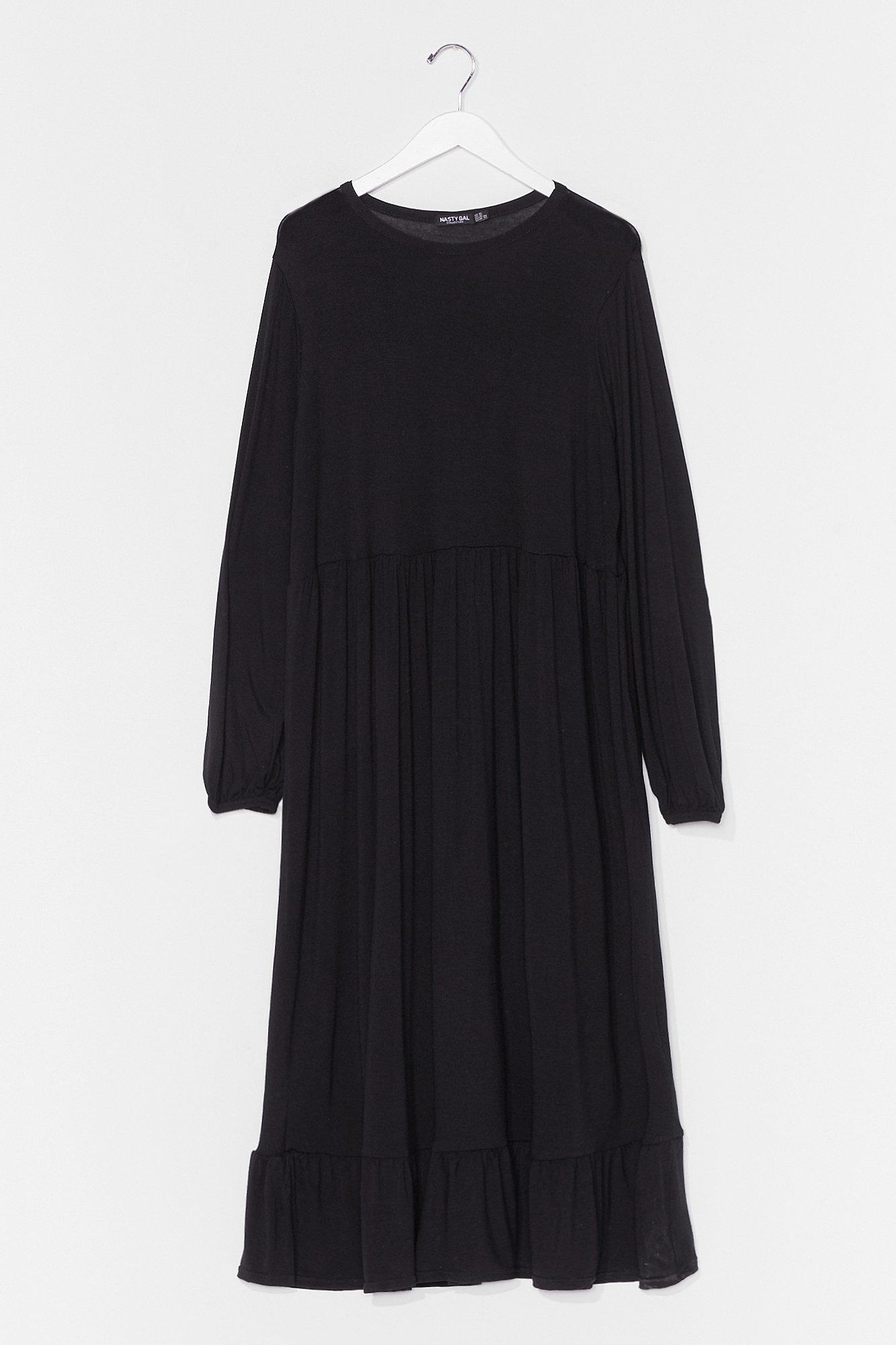 Smock It in Plus Midi Dress 8