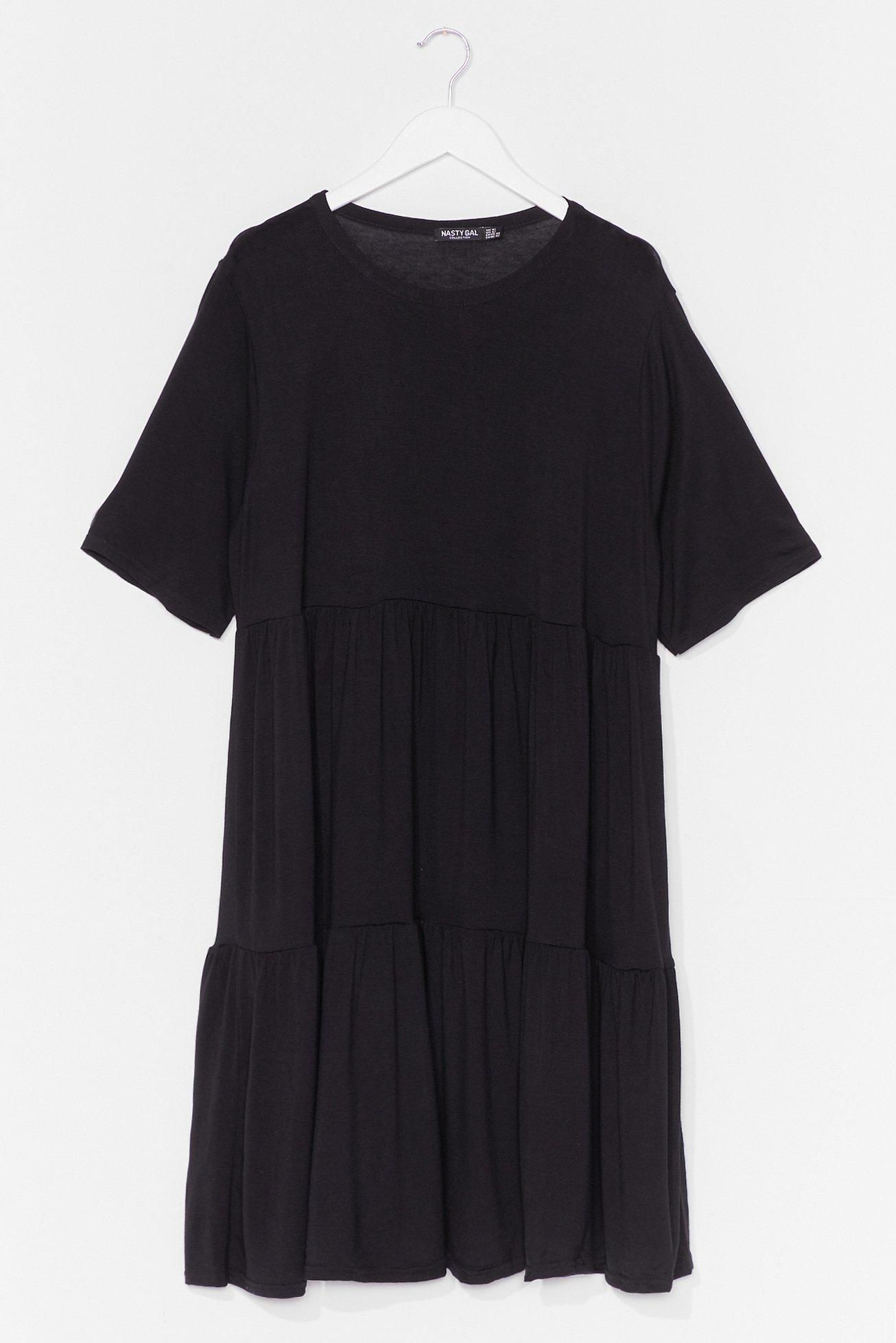 Get Relaxed Plus Mini Dress 8