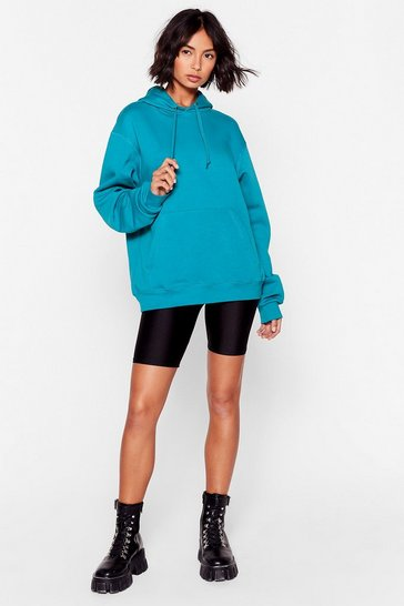 Teal Day to Day Relaxed Hoodie