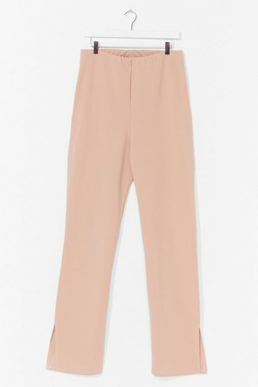 Stone Slittin' Pretty Plus High-Waisted Pants