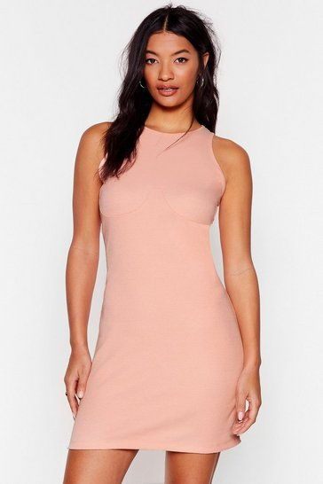 Biscuit Hit the Floor Racerback Mini Dress