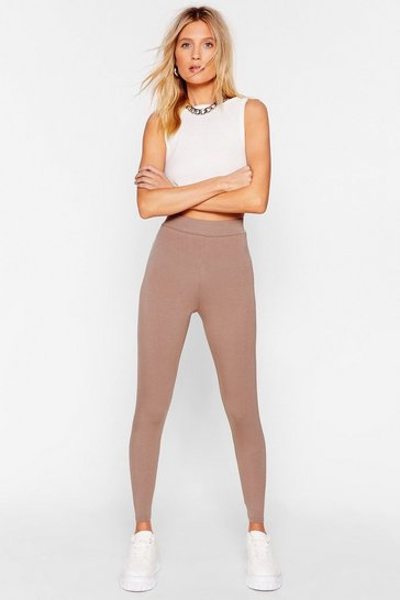 Mocha Hold Tight High-Waisted Leggings