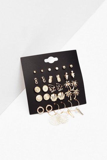 Gold Dainty Stud Multipack