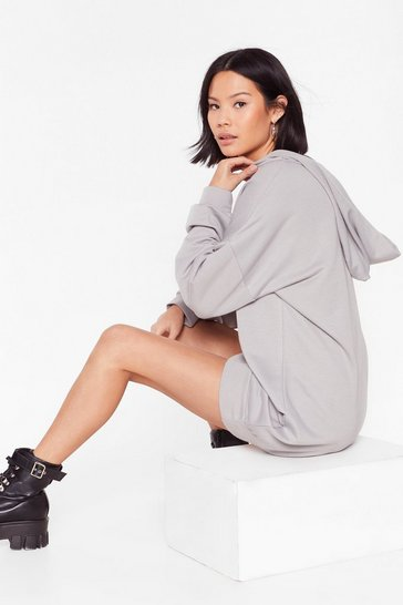 Slate Chills Ville Relaxed Hoodie Dress