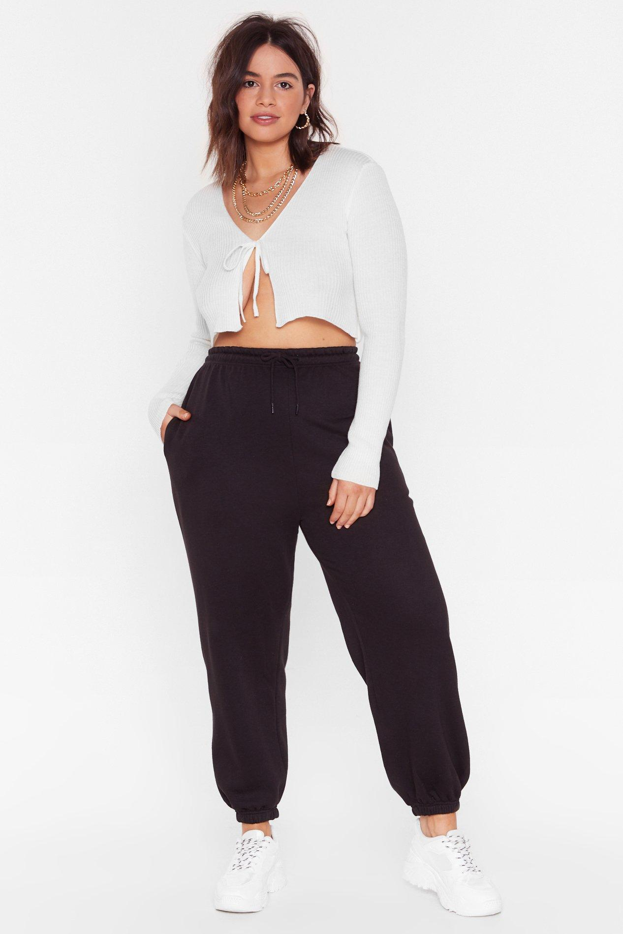 Sweat It Out Plus Oversized Joggers 6